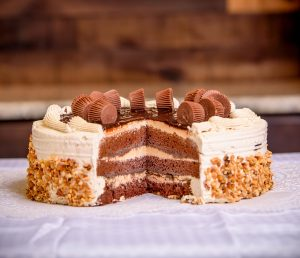 Chocolate Reeses Torte